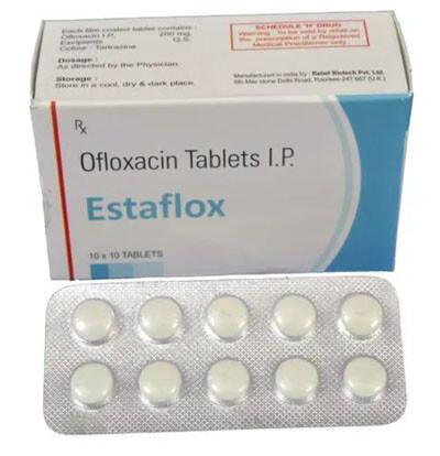 Estaflox tablets