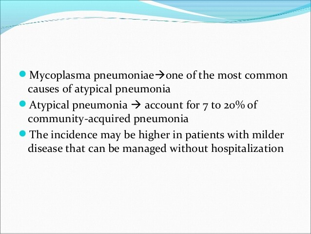 Mycoplasma infection