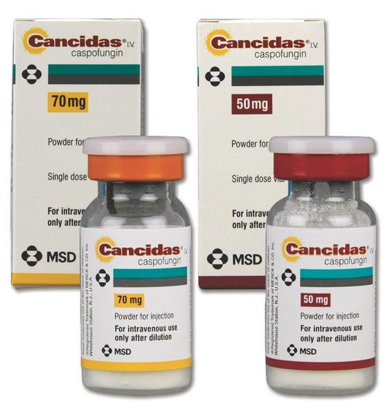 Caspofungin Acetate (Cancidas)