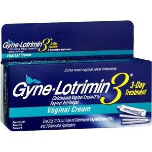 Clotrimazole (Gyne-Lotrimin) Antifungal Cream 15g