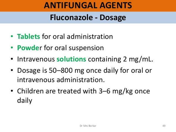 Fluconazole: Dosage and Administration