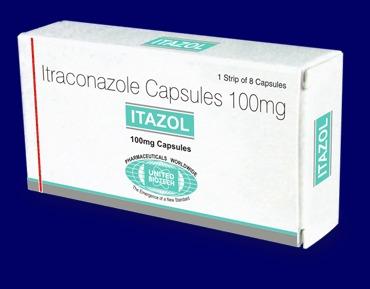 Itraconazole (Sporanox Capsules 100 Mg)