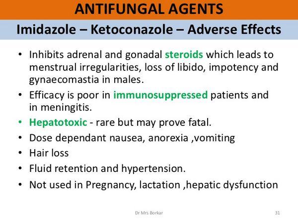 Nizoral Hepatic Effects