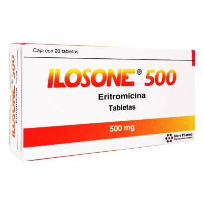 Erythromycin Ilosone