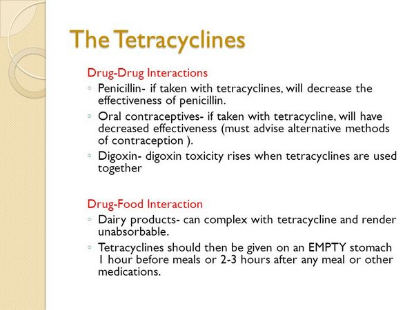 Penicillins: Drug-Drug Interactions