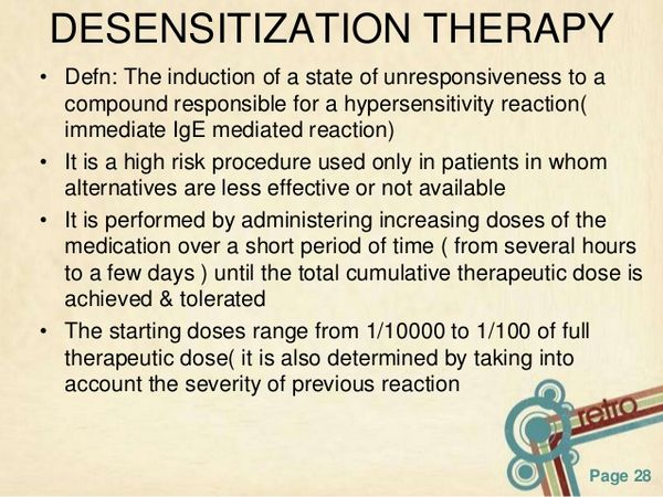 Successful Antibiotic Desensitization