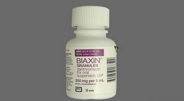 Clarithromycin Biaxin