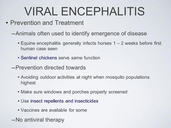 Prevent Encephalitis