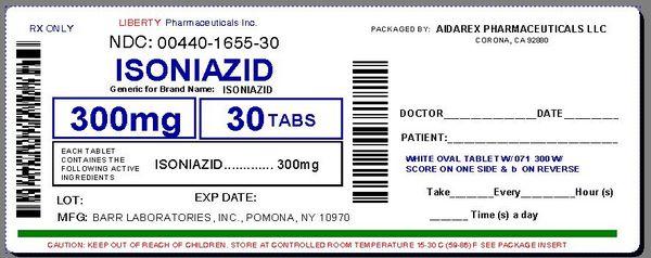 Isoniazid Cautions