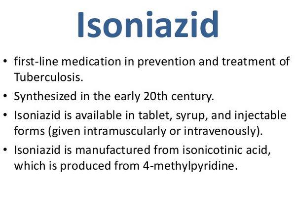 Isoniazid: Uses
