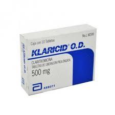 Clarithromycin (Biaxin)