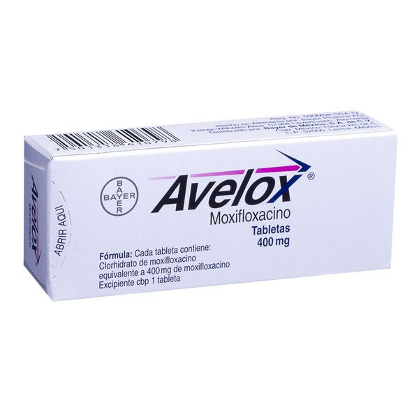 Moxifloxacin (Avelox)