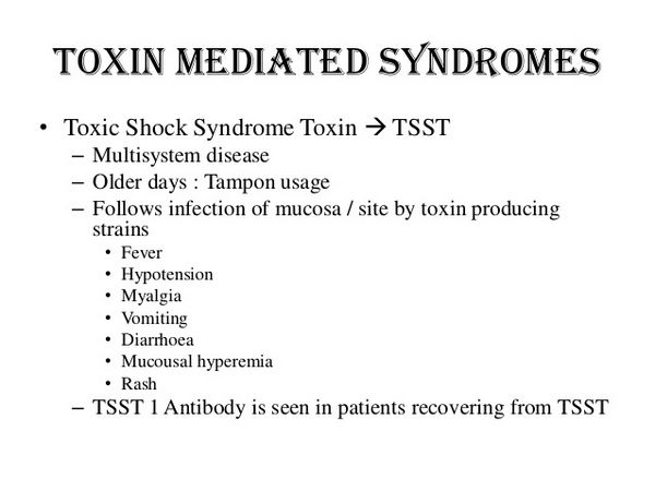 Toxin-Mediated Infections