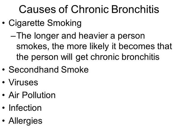 What Causes Chronic Bronchitis?