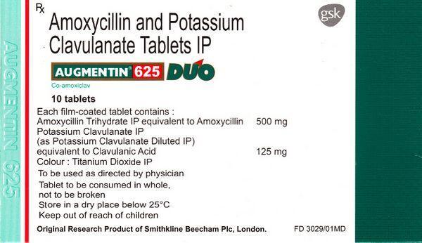 Amoxicillin-Clavulanate Potassium