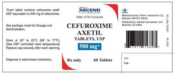 Cefuroxime Axetil