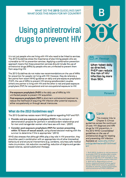 Use of Antiretroviral Agents