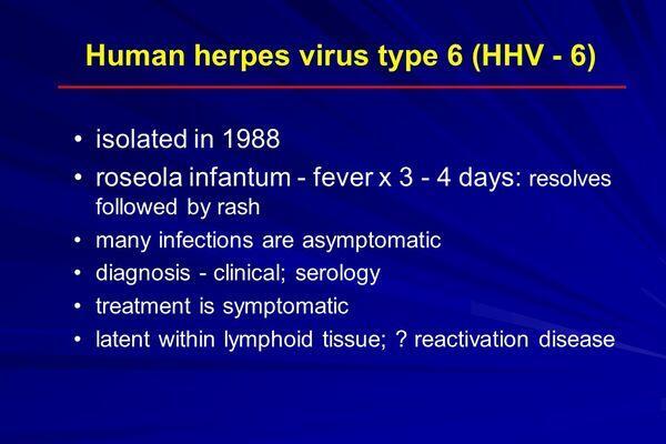 Human Herpesvirus Type 6