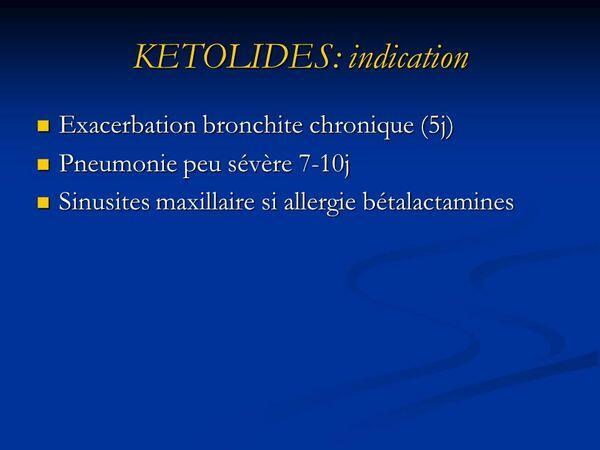 Ketolides