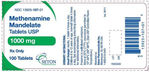 Methenamine - Antibacterial drugs - AntiinfectiveMeds com