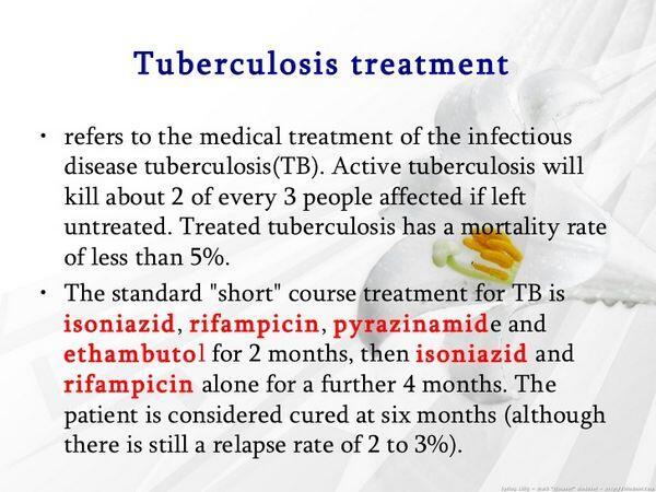 Treatment of Tuberculosis