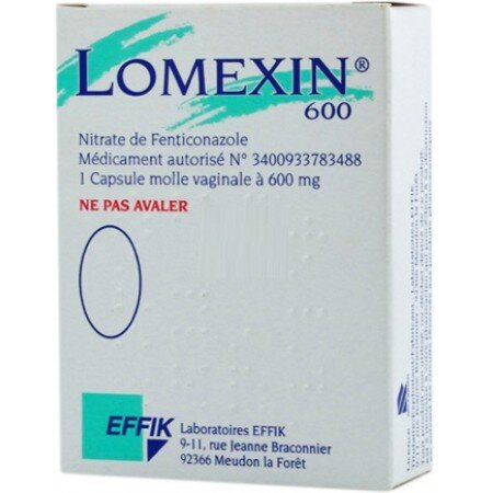Lomexin tablets